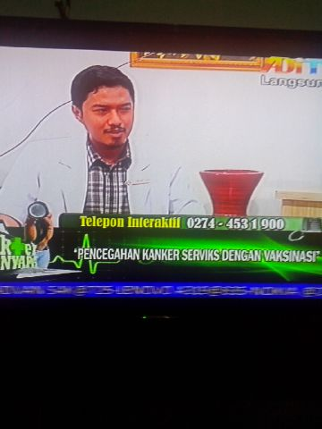 Sosialisasi vaksin HPV live di AdiTV