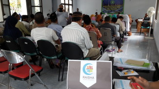Stand Vaksinasi Masal Influenza Kecamatan Depok Sleman Yogyakarta