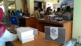 Stand Vaksinasi Masal Influenza Haji Kecamatan Mlati Sleman Yogyakarta