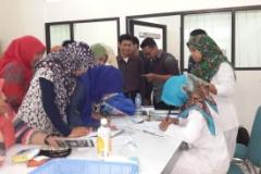 Vaksinasi Masal Hepatitis B Koas FK UII 2010 Yogyakarta Gelombang 1