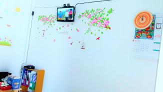 pemandangan ruang tunggu Klinik Raisha
